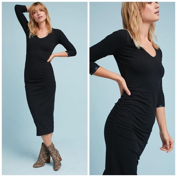 aeb77a56bded Anthropologie Dresses | Nwt Michael Stars Slim Knit Dress | Poshmark